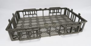 What are heat treating baskets?