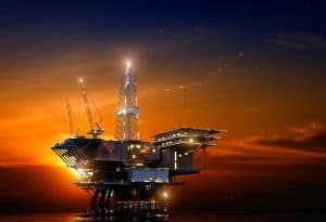 ring rolling oil rig